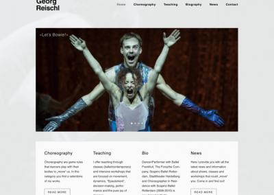 Georg Reischl Choreograph