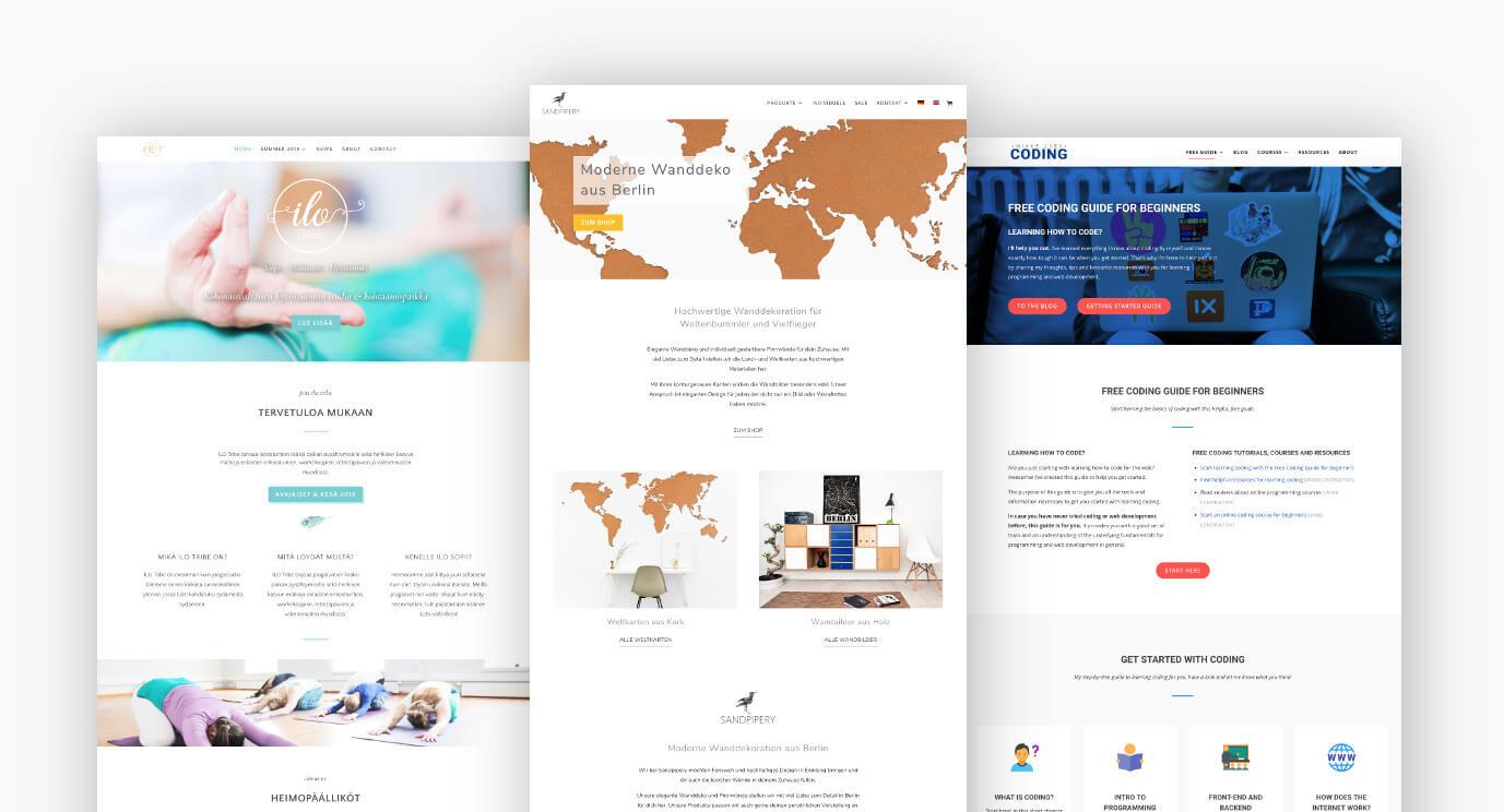 WordPress Entwickler in Berlin: Konzeption und Erstellung aus einer Hand vom WordPress Fachmann